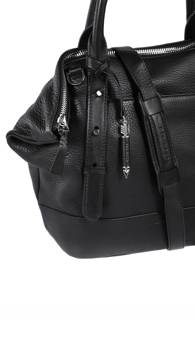 Large Black Tote Bag | Mackage Handbags