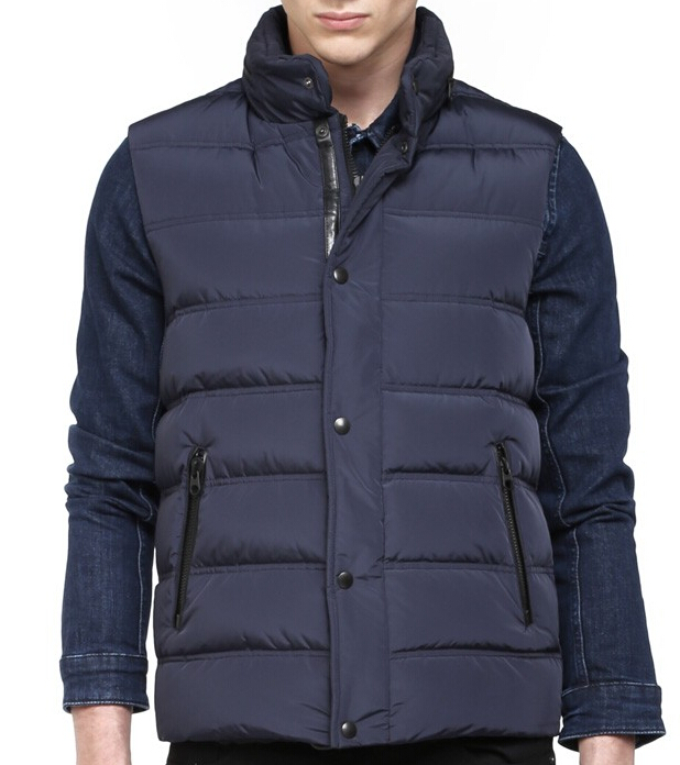 Burton Ink Down Sleeveless Jacket Mackage Men